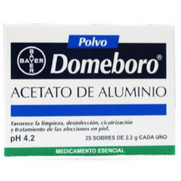 Domeboro polvos pH-4.2 2gr