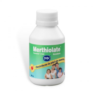 Merthiolate incoloro 90ml