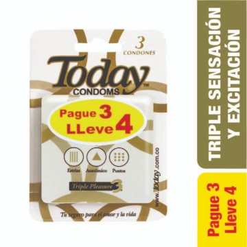 Today triple placer pague 3...