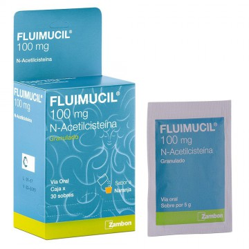 Fluimucil 100mg oral...