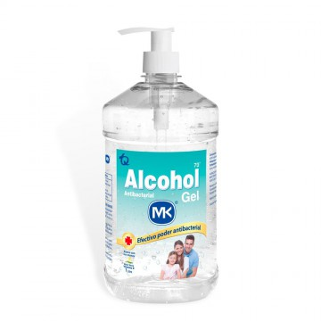 Alcohol gel 70% 1000ml