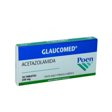 Glaucomed 250mg 10und
