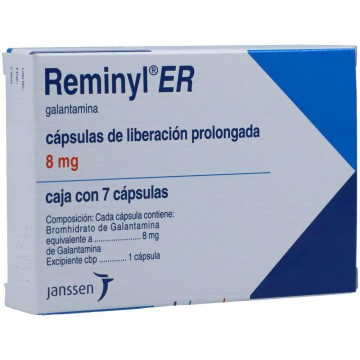 Reminyl Er 8mg 7cap