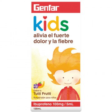 Ibuprofeno kids 100mg 120ml