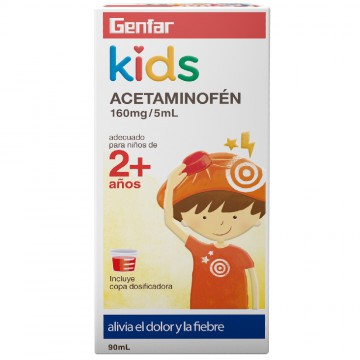 Acetaminofén Kids 160mg 90ml