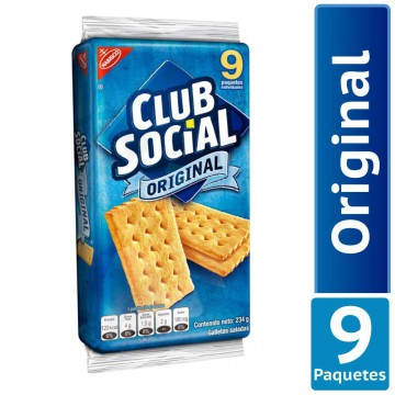 Galleta salada club social...