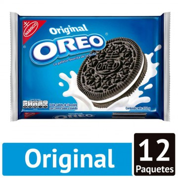 Galleta oreo original sabor...