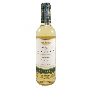 Vino blanco botella 375ml -...