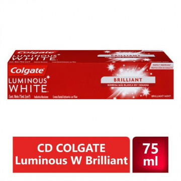 Crema dental luminus white...