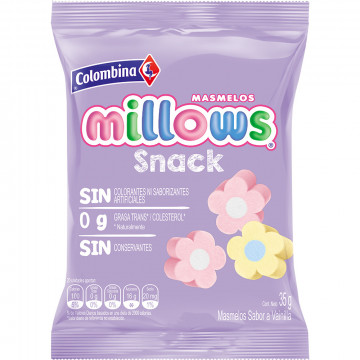 Masmelos millows snack...